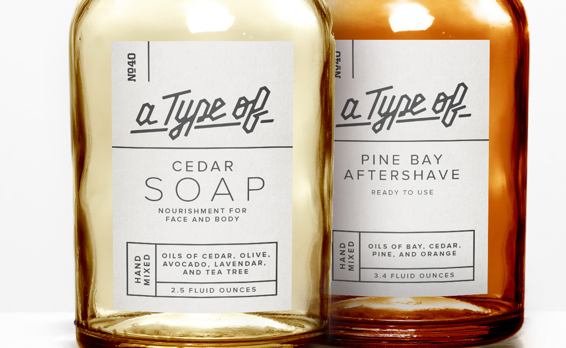 Bay Rum Spice Aftershave Package Design