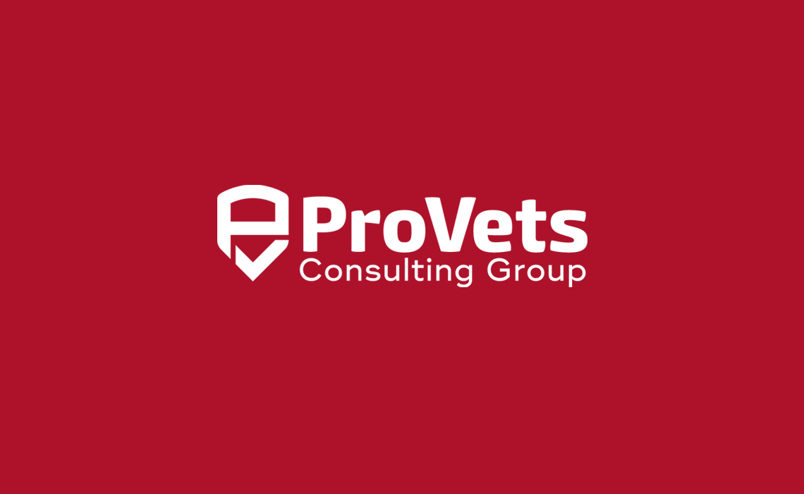 Pro Vets Consulting Group Logo Design by Typework Studio