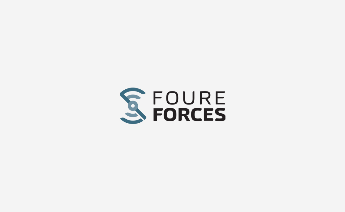 Foure Forces Aviation Logo Design by Typework Studio Logo Design Agency