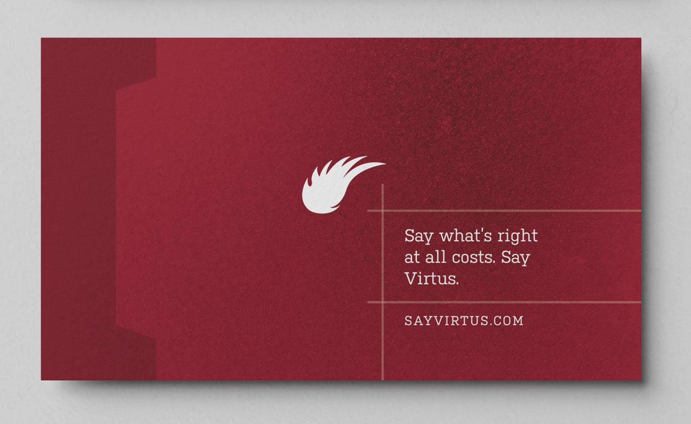 Virtus Business Card Design