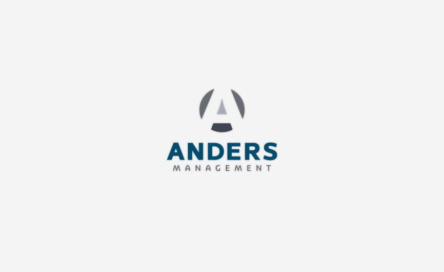 Anders Managment Logo Design