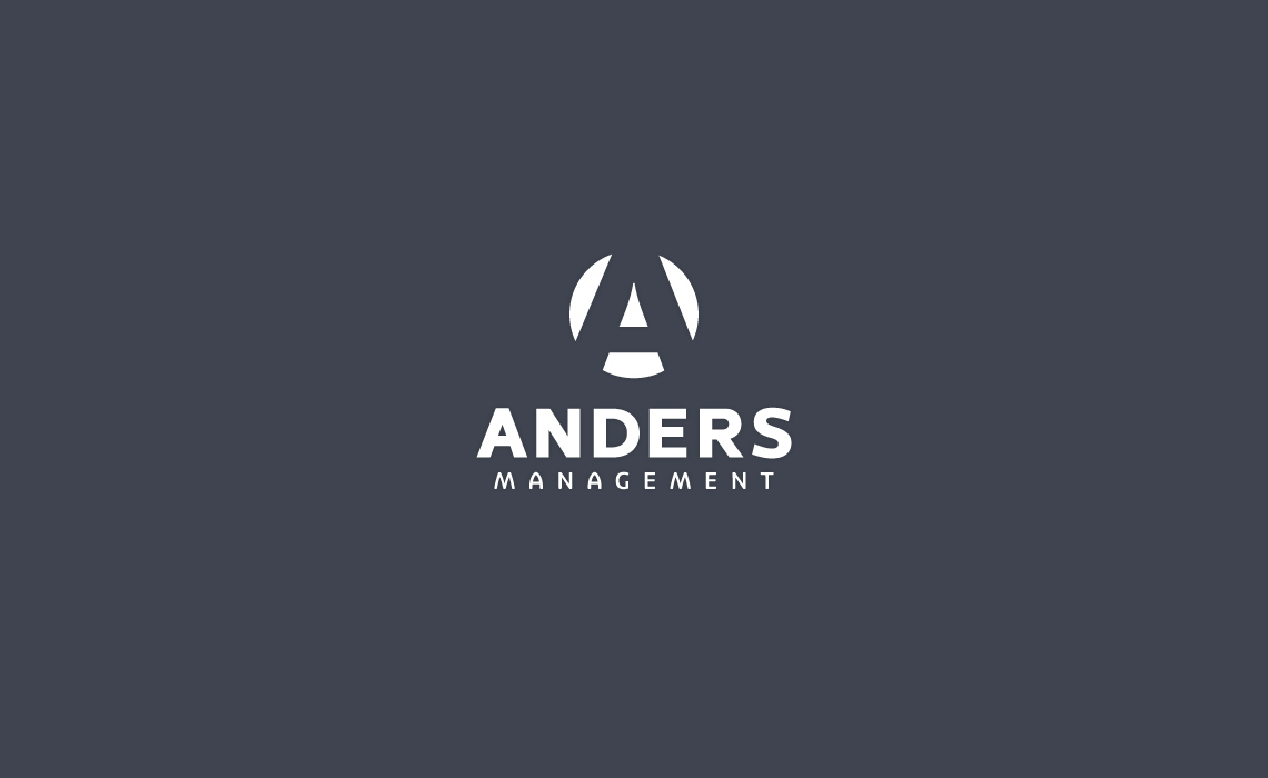 Anders Management Logo Design
