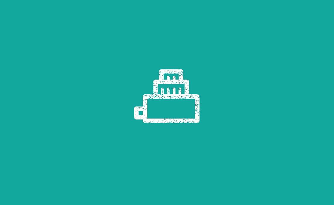 Camera Cake Icon design