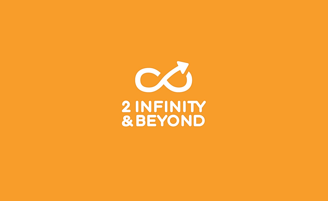 2 Infinity and Beyond Logo Design