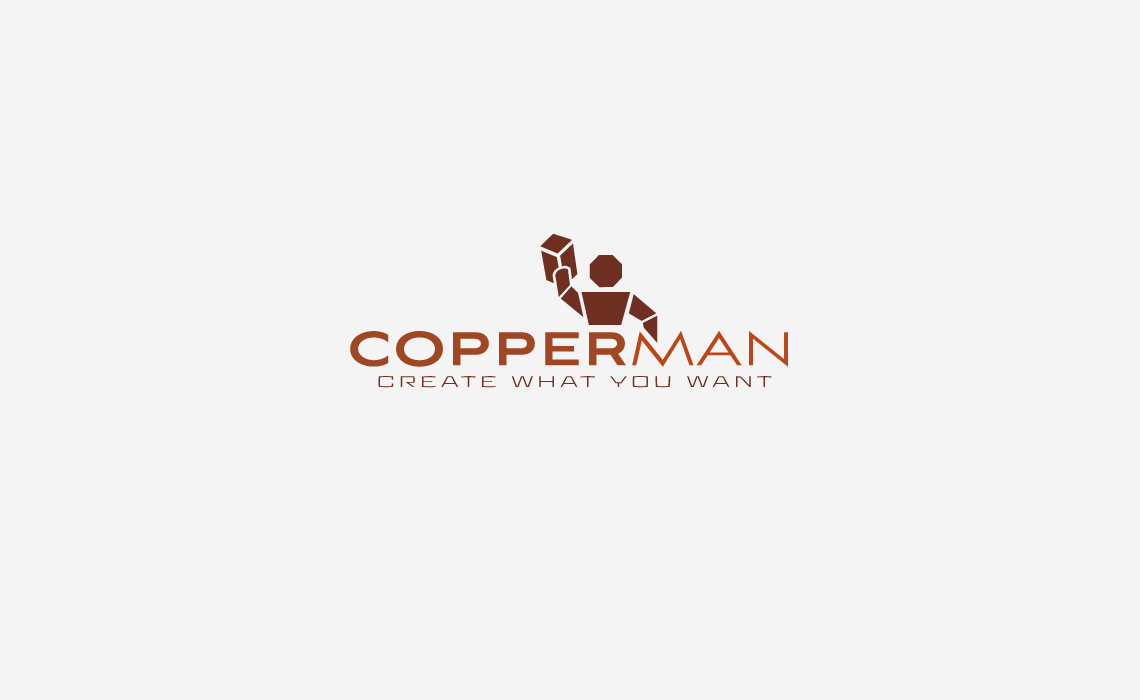 Copperman Logo Design
