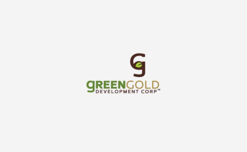 Green Gold Logo Design