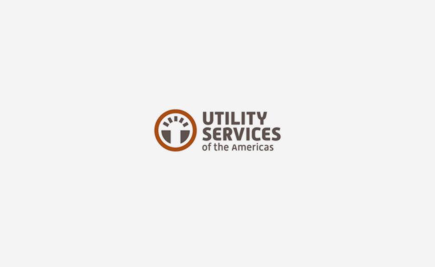 Utility Services of the Americas Logo design