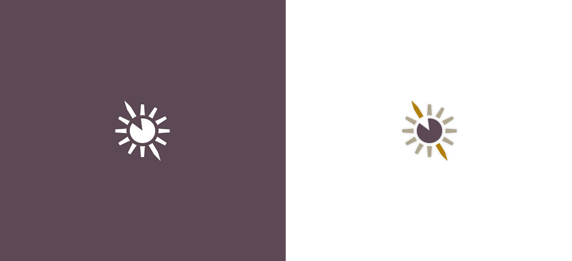 Spear Sun Icon Design