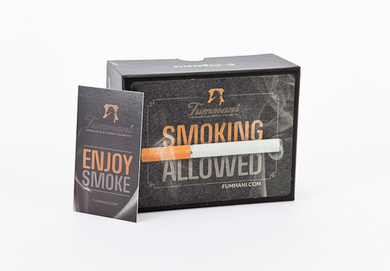 Fummani Cigarettes Packaging Design