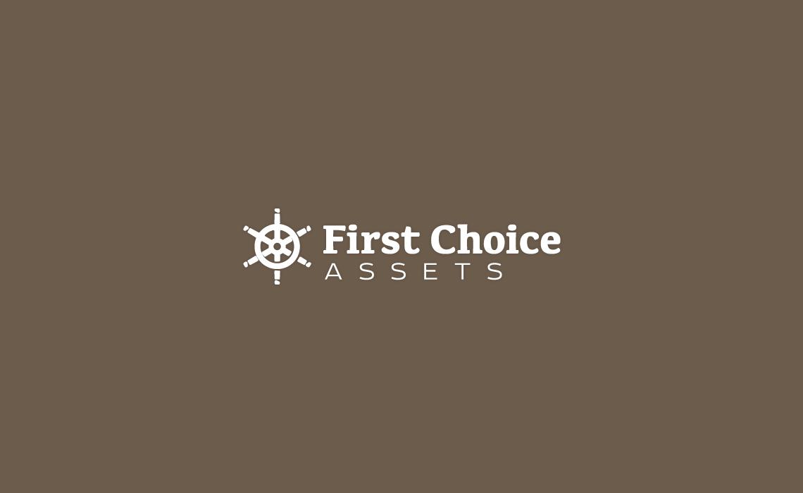 1st Choice Assets Logo design
