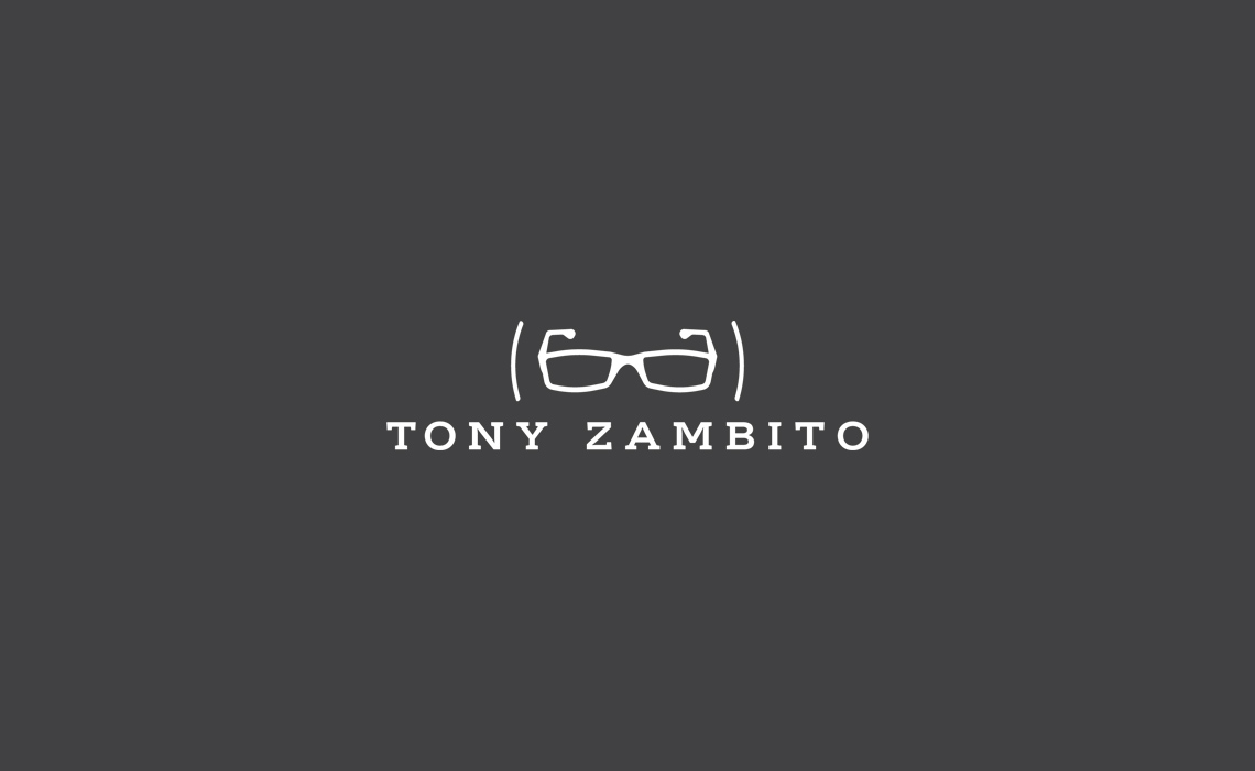 Tony Zambito Logo Design + Development