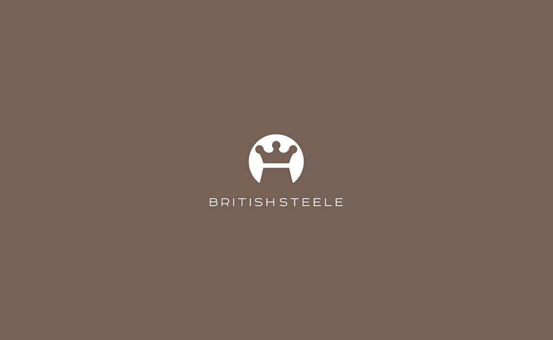 British Steele Fashion Logo Design