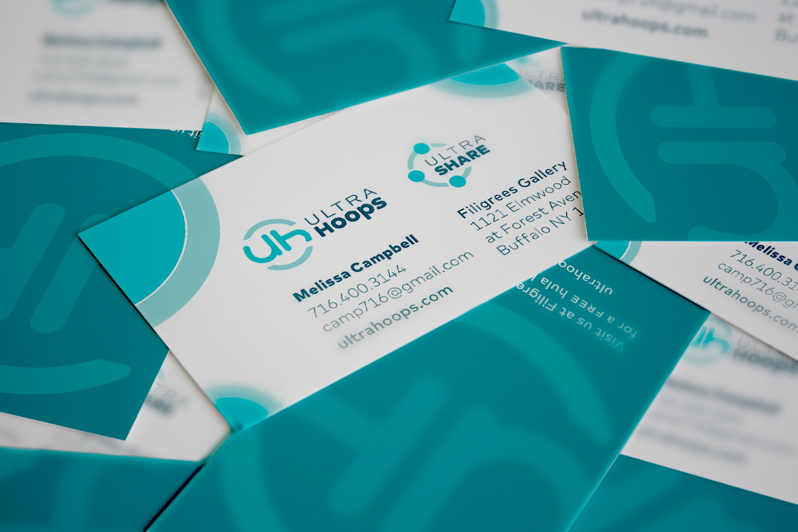 Ultrahoops Business Card Design