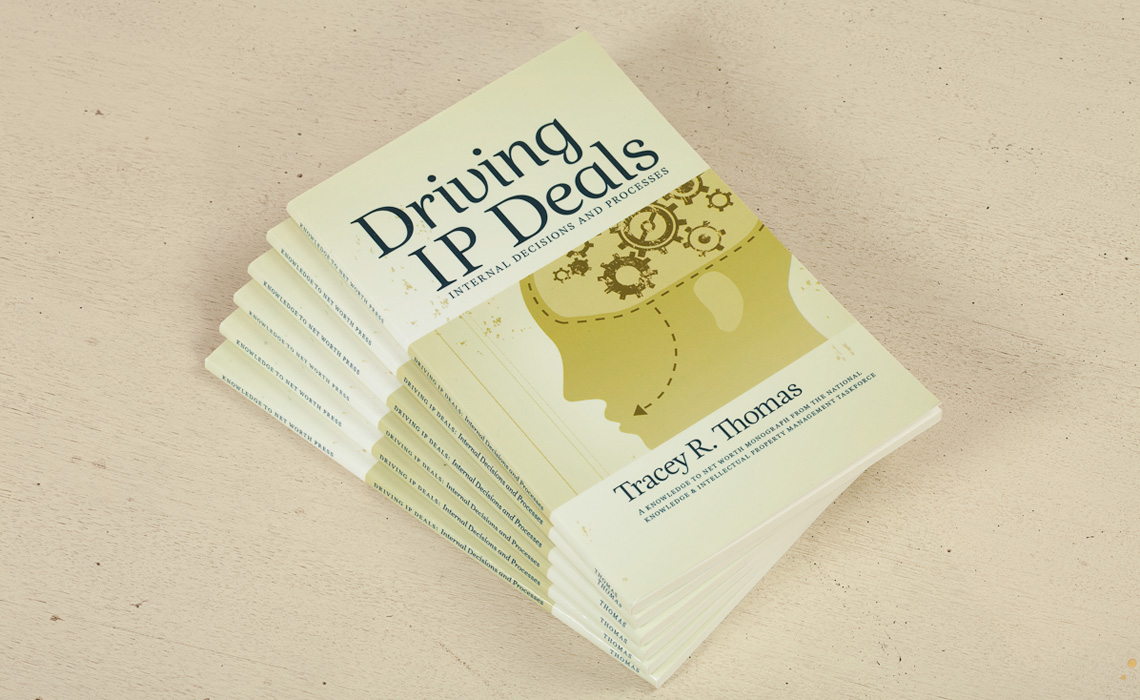 Driving IP Deals Book Design