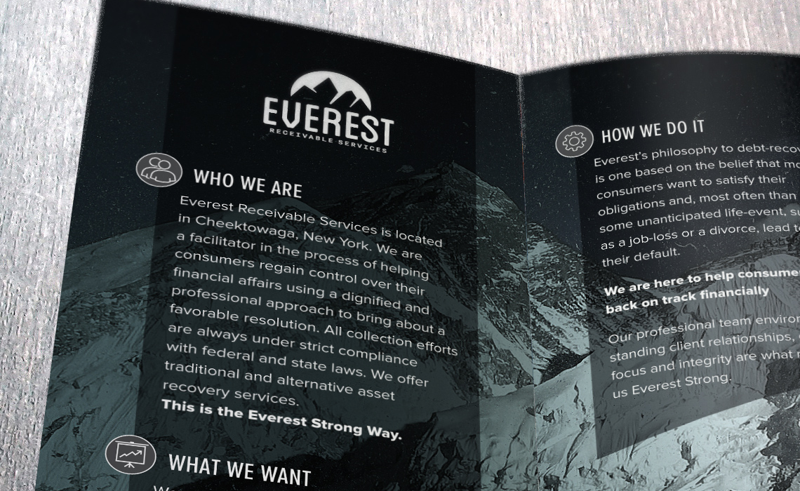Everest Brochure Design