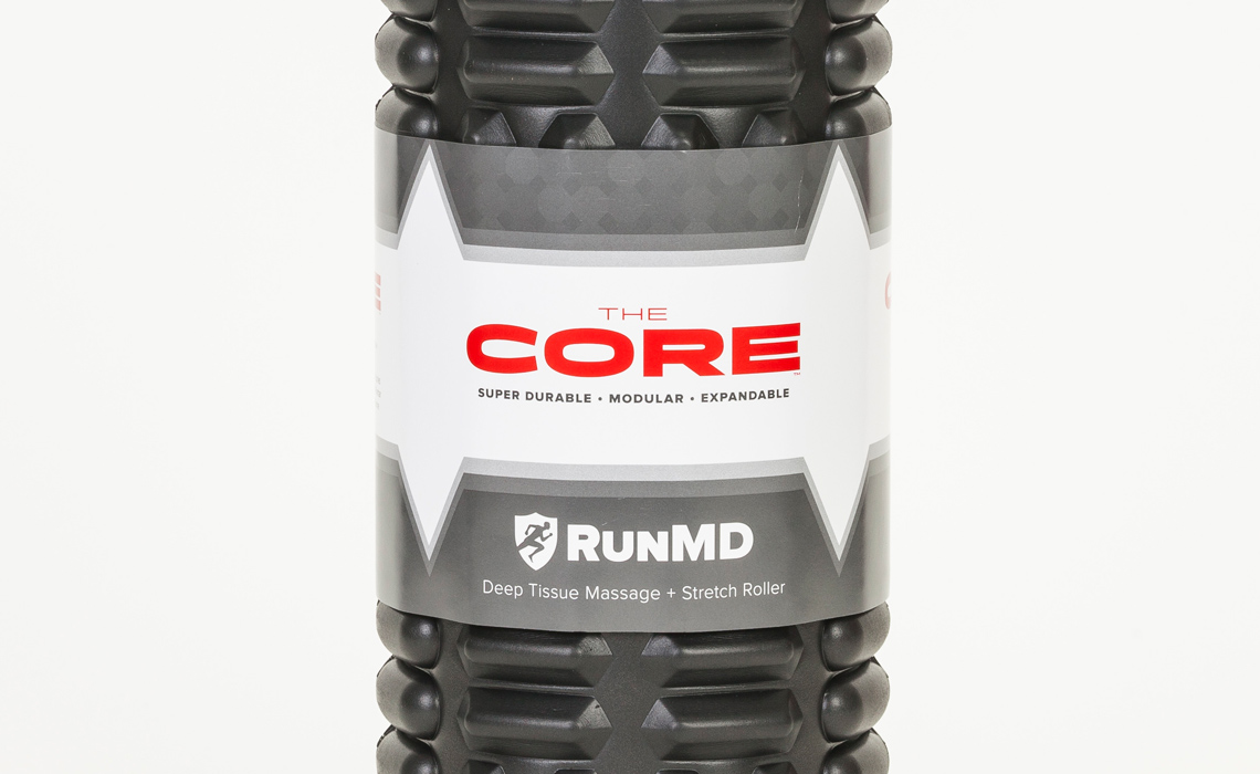RunMD Foam Rollers Package Design