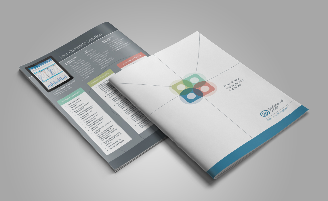 Safefood 360 Brochure Design