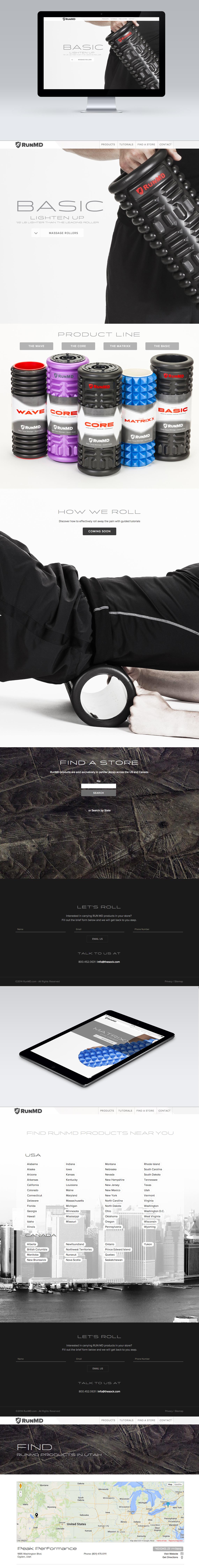 RunMD CMS Web Design