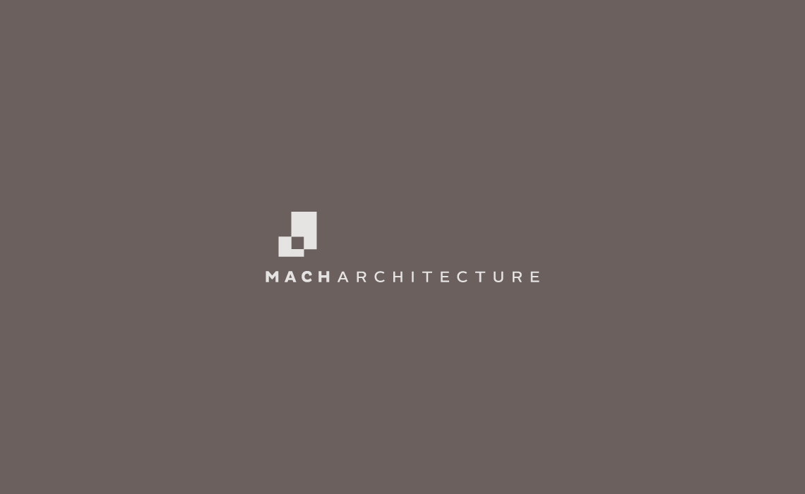 Mach architecture logo design branding by typework studio for Architecture company