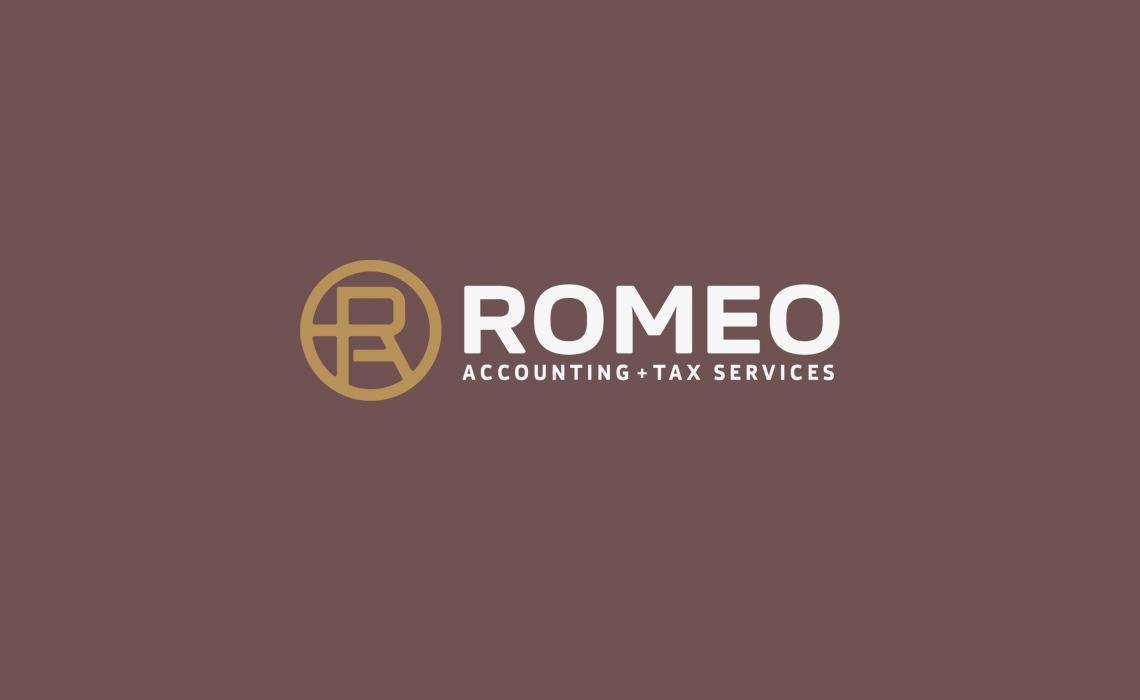 Romeo Accounting Logo Design
