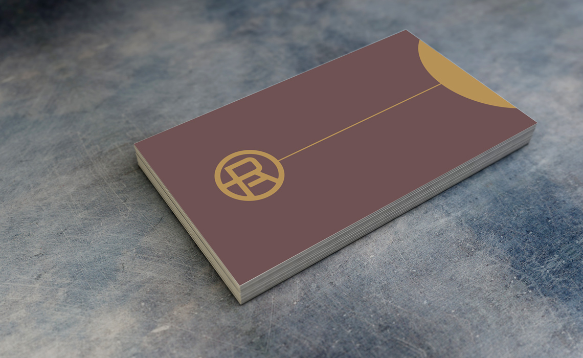 Romeo Accounting Business Card Design