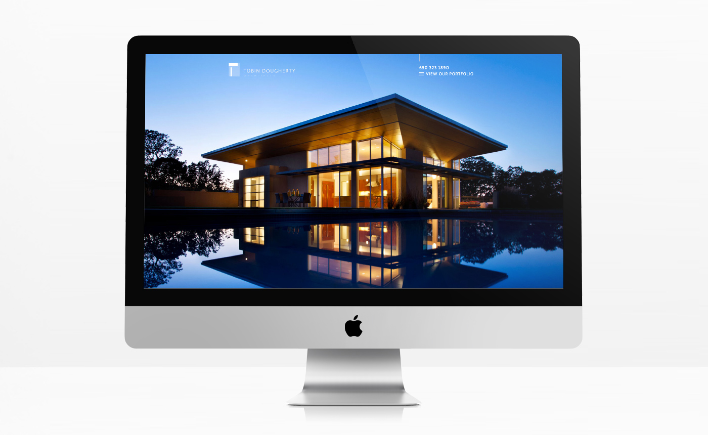 Tobin Dougherty Architects Web Design