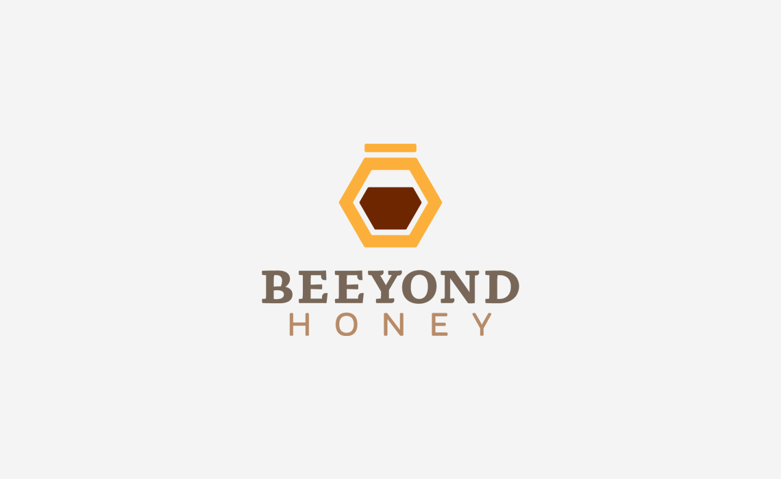 Beeyond Honey Logo Design