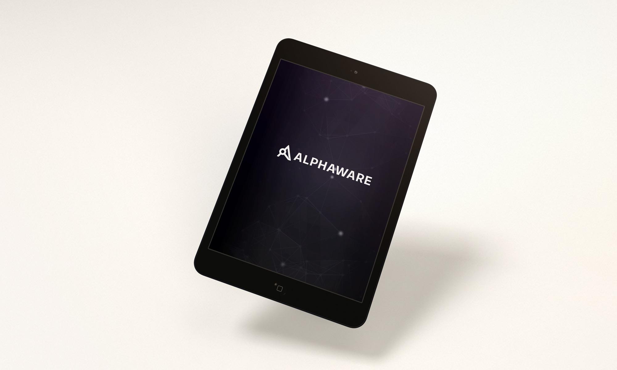 Alphaware Logo Design