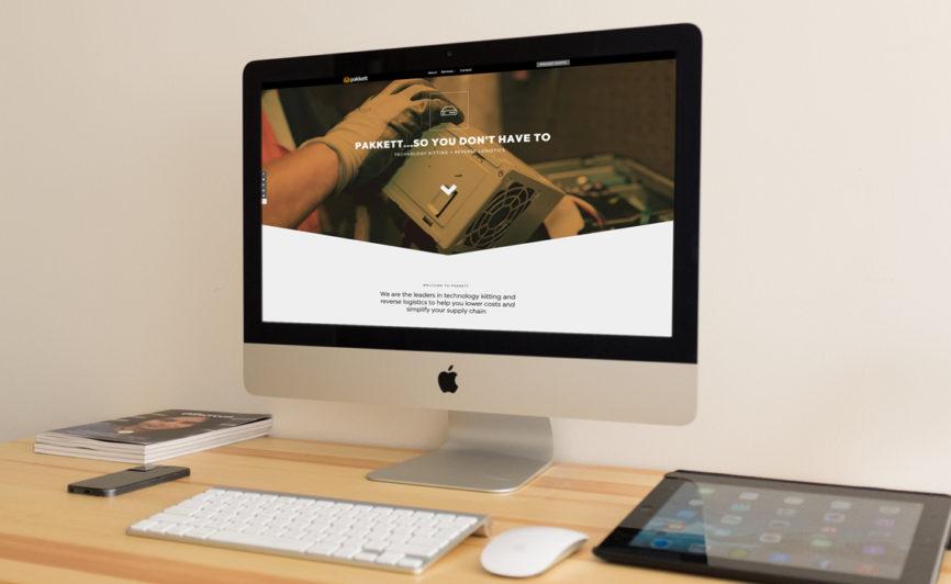 Pakkett CMS Web Design