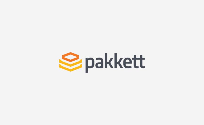 Pakkett Logo Design