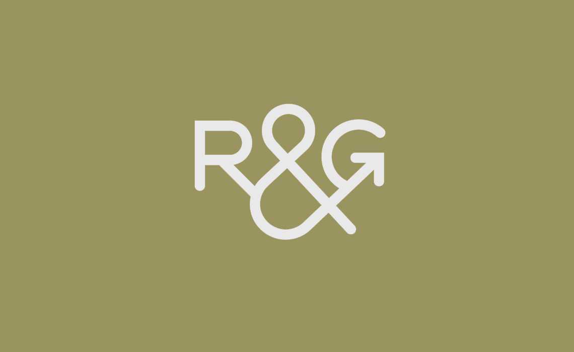 River & Grange Fish Logo Design