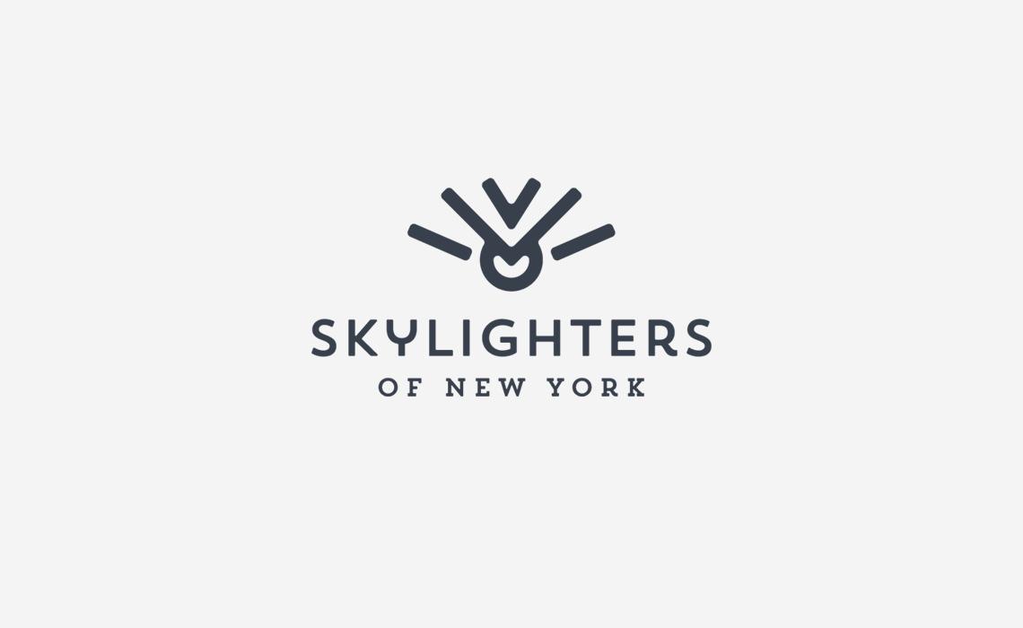 Skylighters of WNY Logo Design