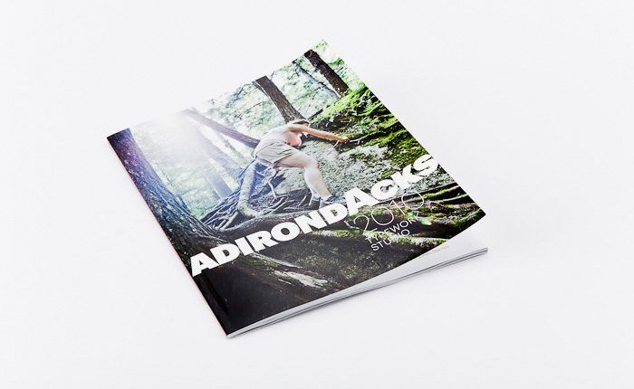 Adirondacks Book Design by Typework Studio Design Agency