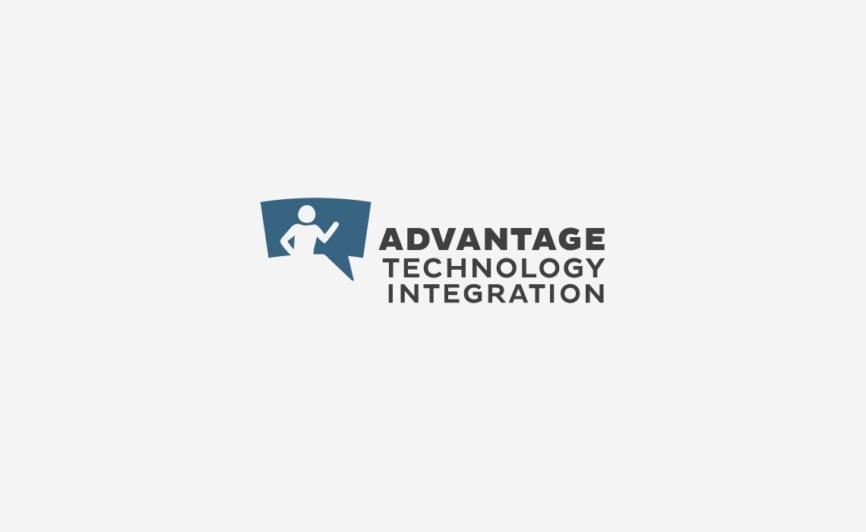 Advantage Technology Integration Logo Design and Branding by Typework Studio Logo Design Agency