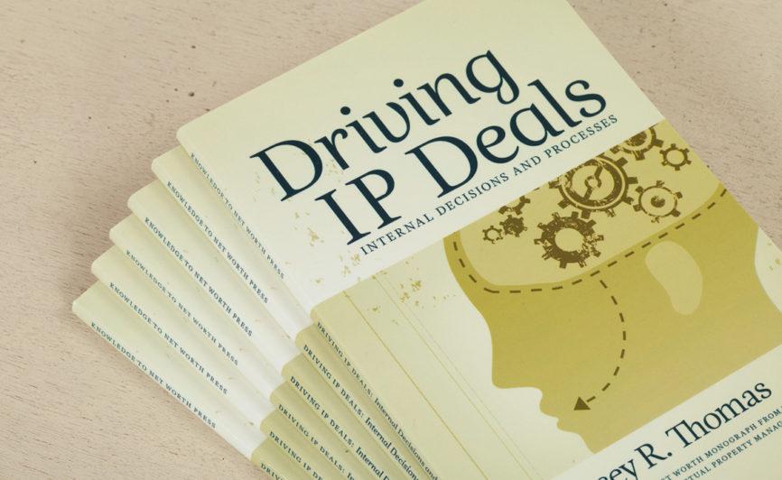 Driving IP Deals Book Design by Typework Studio Design Agency