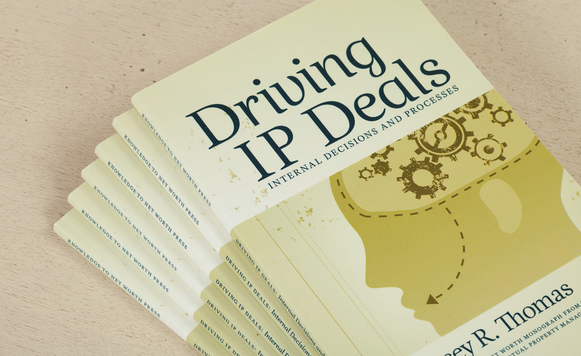 Driving IP Deals Book Design by Typework Studio Design Agency