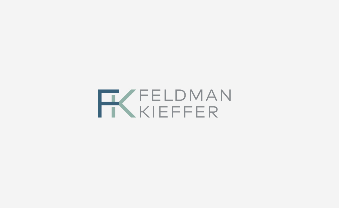 Feldman Kieffer Logo Design by Typework Studio Design Agency