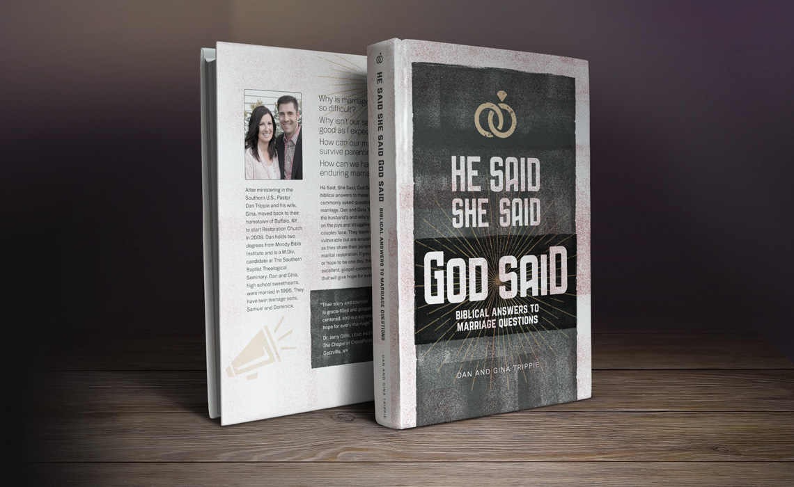 He Said, She Said, God Said Book Design by Typework Studio Design Agency