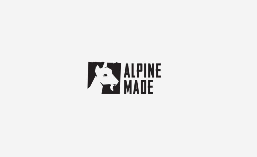 Alpine Made Logo Design and Brand Identity by Typework Studio Logo Design Agency