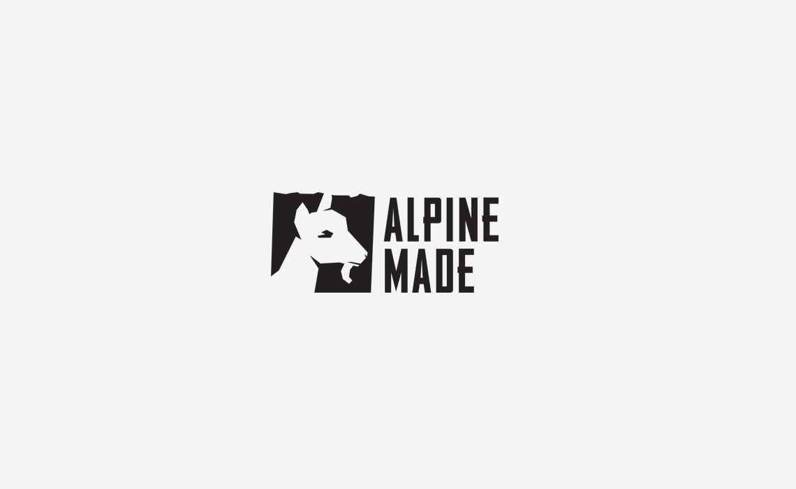 Alpine Made Logo Design and Brand Identity by Typework Studio Logo Design Agency