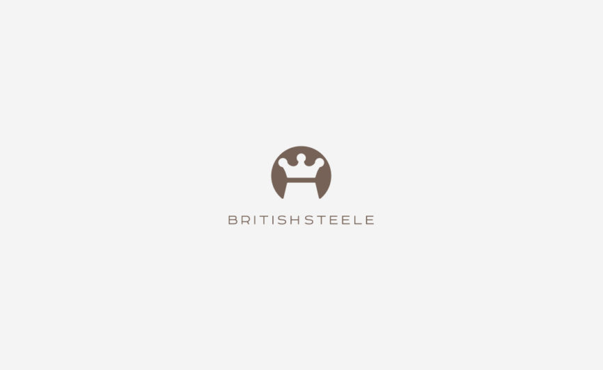 British Steele Fashion Logo Design by Typework Studio Logo Design Agency