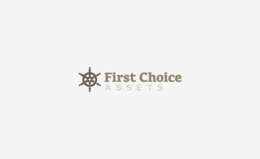 1st Choice Assets Logo design by Typework Studio Logo Design Agency