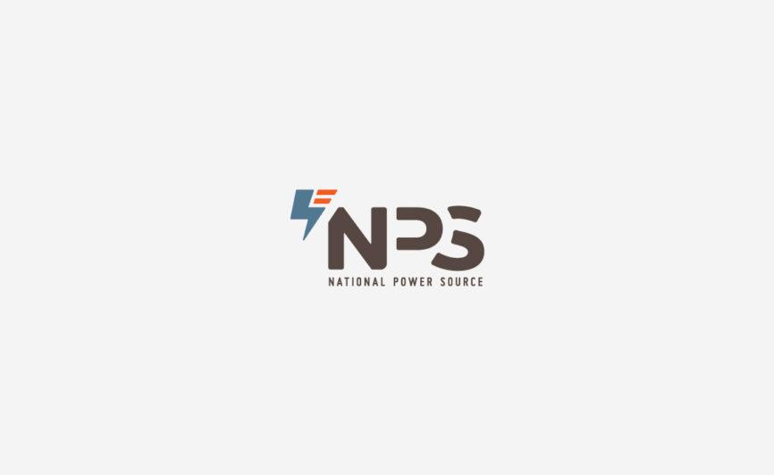 National Power Source logo design by Typework Studio Logo Design Agency