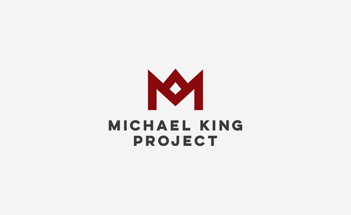 Michael King Logo Design