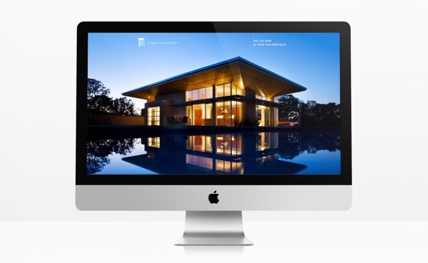 Tobin Dougherty Architects CMS Web Design
