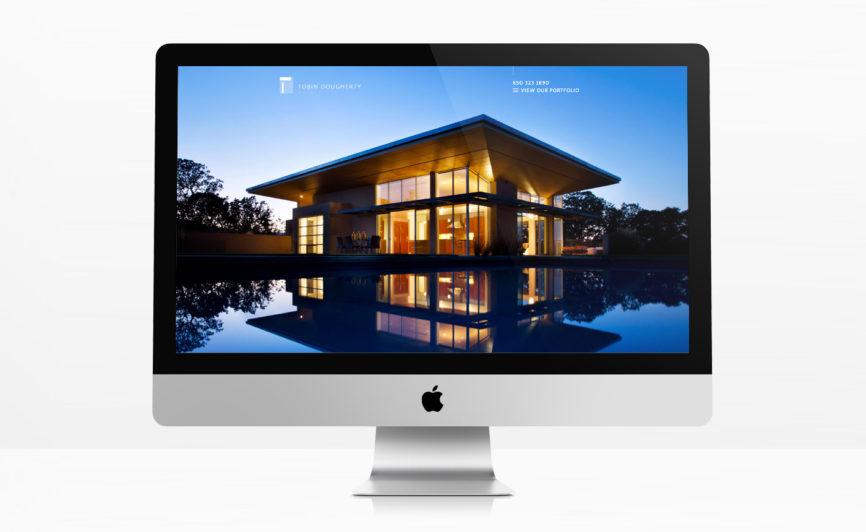 Tobin Dougherty Architects CMS Web Design