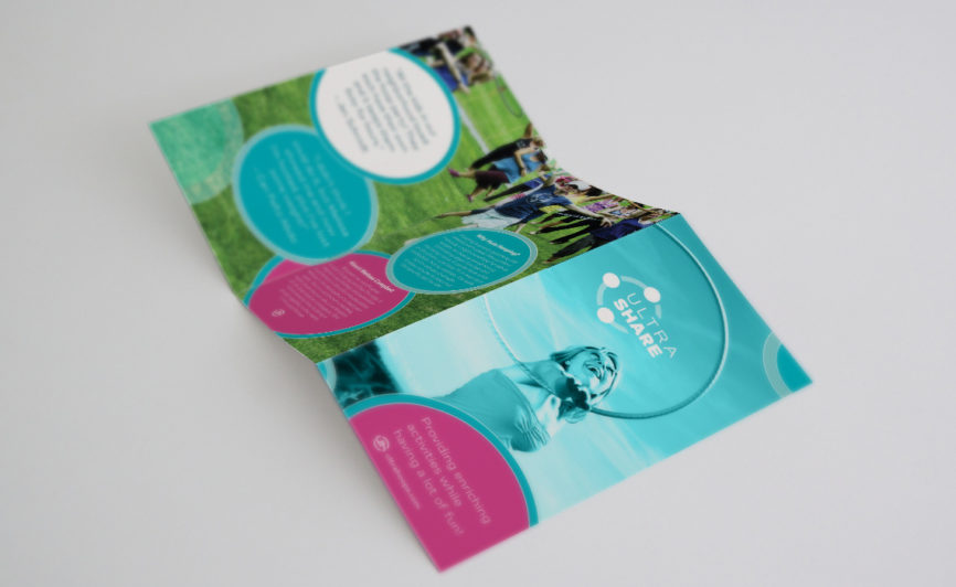 Ultra Hoops Brochure Design by Typework Studio Design Agency