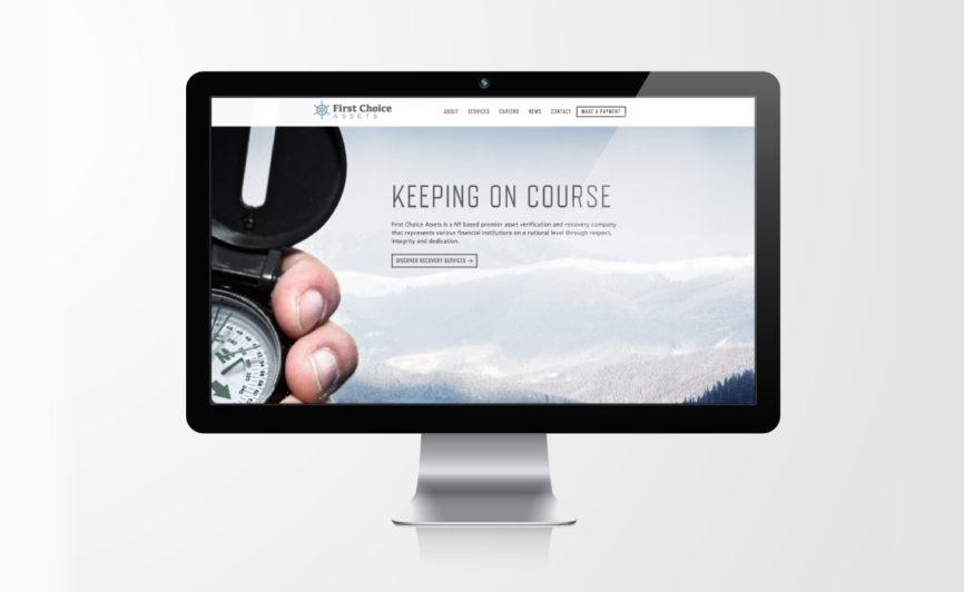 First Choice Assets CMS Web Design by Typework Studio Web Design Agency