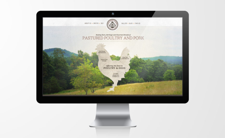 Why Not Farm Organic Meat CMS Web Design by Typework Studio Web Design Agency