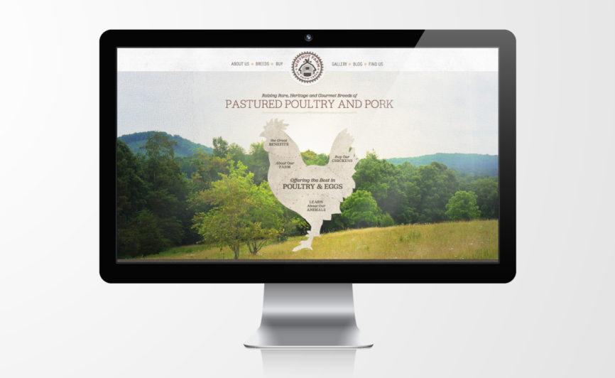 Why Not Farm Organic Meat CMS Web Design by Typework Studio Web Design Agency
